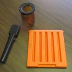 Muzzle Plug, Door for Fisher Price (orange part), Bottle (prototype)