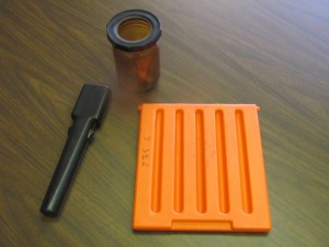 Muzzle Plug, Door for Fisher Price (orange part), Bottle (prototype)
