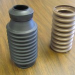 blow molded plastic bellows