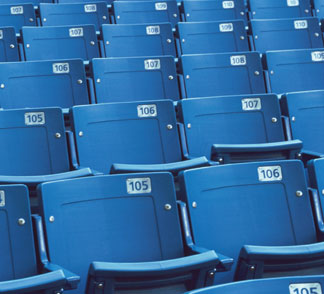 Stadium-Seating Blow Molding for Furniture Industry