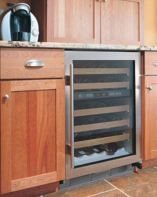 blow molding for appliances photo of wine refridgerator