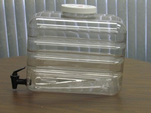 clear-polycarbonate-blow-molding for food industry - water container