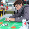 blow molded game table football
