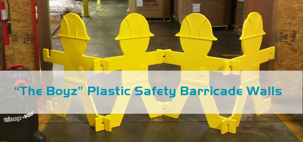 plastic safety barricades - the boyz or the boys