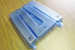 Blue Plastic Container